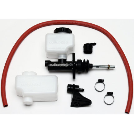 "1"" Limited Space Master Cylinder Kit - Banjo Oulet"