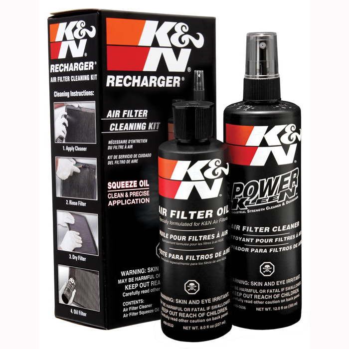 K&N Air Filter Cleaner & Filter Service Kit