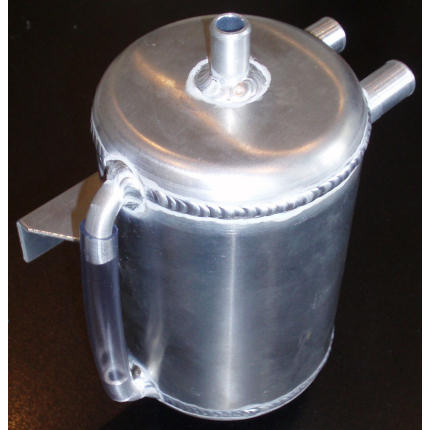 Round Catch Tank - Vertical (rear mounted)