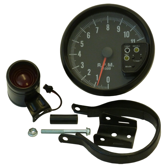 "5"" (120mm) 7 Colour Stepper Tachometer"