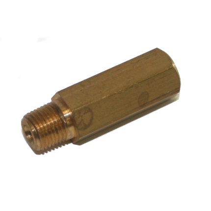 1/8 NPT Male to M10x1mm Female Sender Adaptor