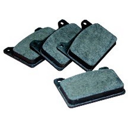 Powerlite 4-Pot Fast Road Light Rally Pads (Poly-E)