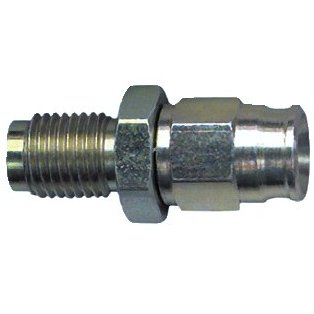 Male concave seat hose fitting - (3/8 x 24 UNF)