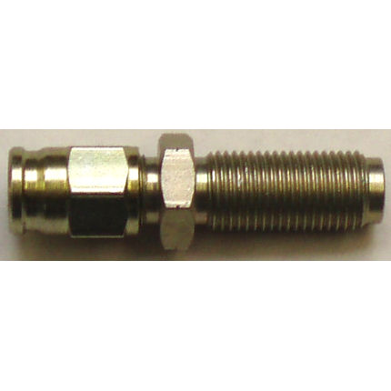 Male bulkhead concave seat hose fitting - (M10 x 1)