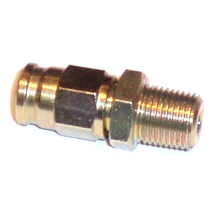 Brake Pipe Male End - 1/8 NPT Taper (into Wilwood caliper)