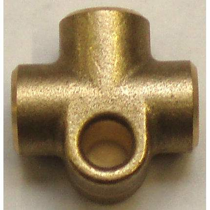 Hose Fitting T piece, M10 x 1, female