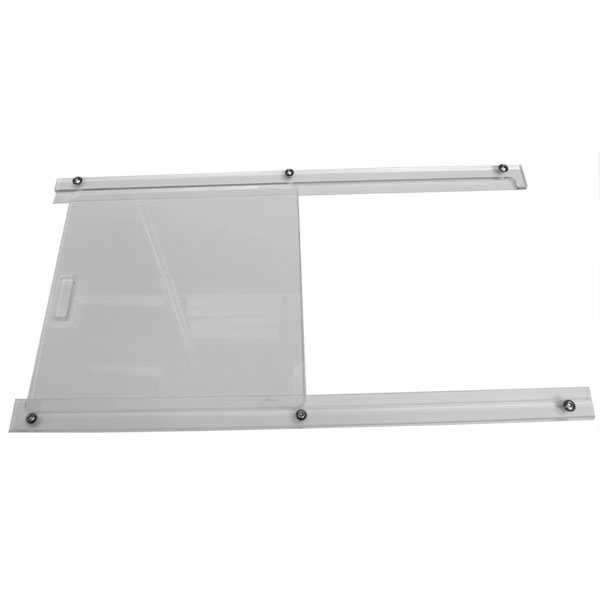 Clear Acrylic Sliding Window Kit (Car Set)