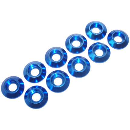 Load Spreading Washers - Aluminium (Blue, Black or Silver)