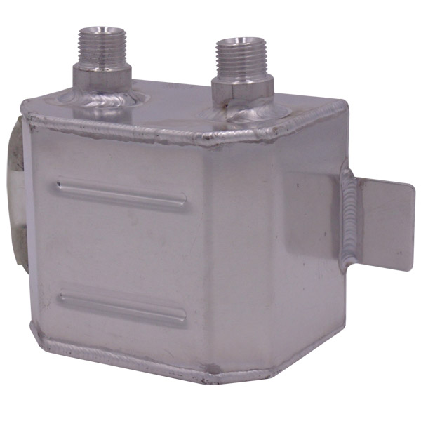Oil Catch Tank - Alloy - 1 Litre