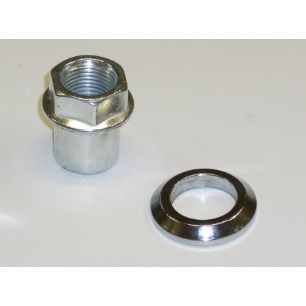 Group 4 Strut Parts - Top Nut & Conical Washer