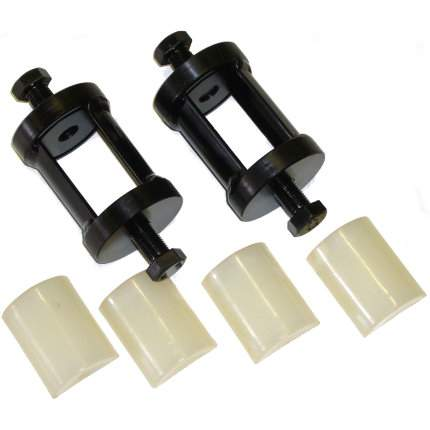 Slipper Spring PTFE Slider Kit - 50mm Leaf Springs
