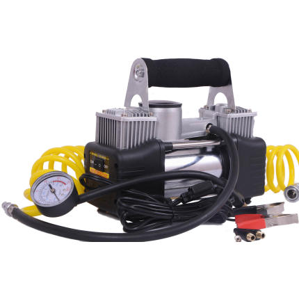 Heavy Duty Double Cylinder Air Pump 150PSi