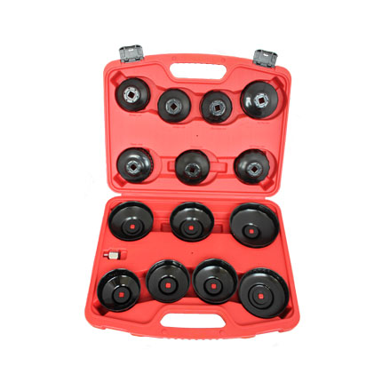 Big Red 16 Piece Oil Filter Removal Wrench Set