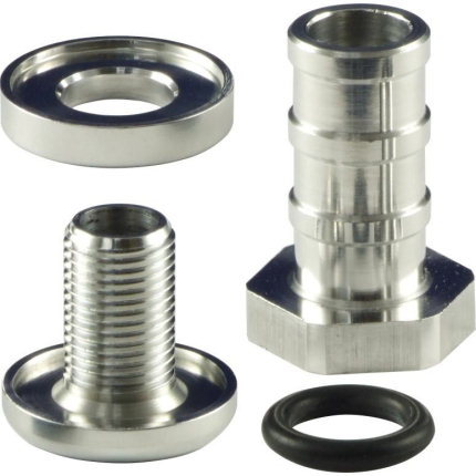 Self Sealing Fitting - 10mm Push Fit