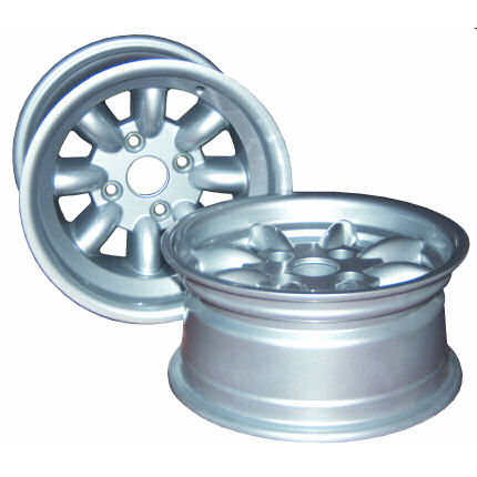 8 x 15 Alloy Wheels - STD Ford Inserts