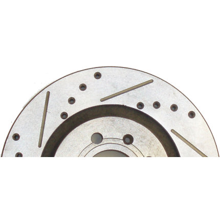 Maxtorq X Drilled & Grooved Discs (Pair)