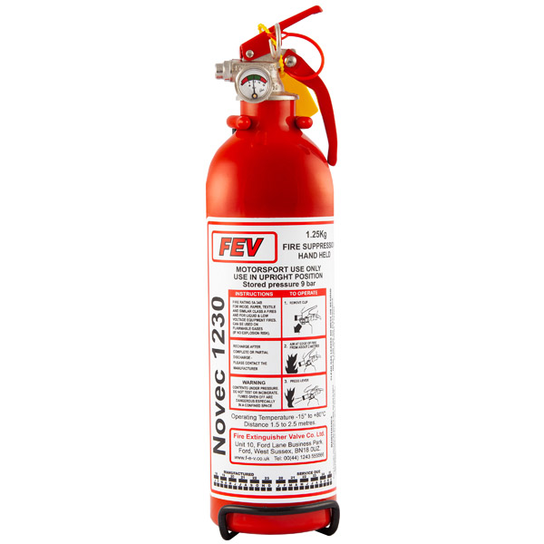 1.25kg Handheld Novec1230 Gas Extinguisher