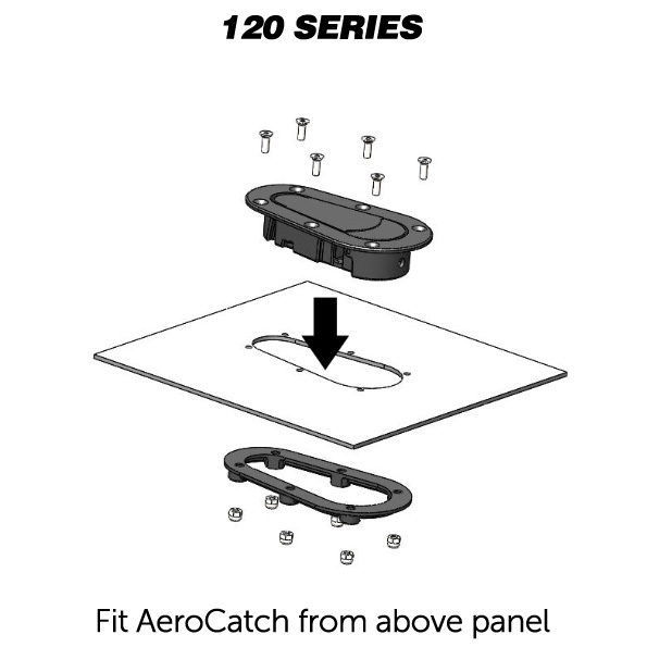 AeroCatch Top - Non Locking