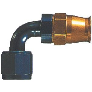 90° Elbow Metric hose fitting - (M12 X 1.50 Thread)