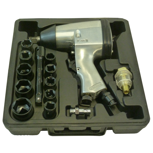 "Blackline 17pc 1/2"" Impact Wrench Kit"