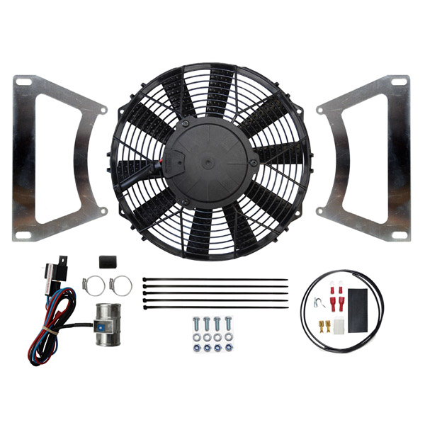 "Ford Escort MK1 & MK2 10"" Cooling Fan Kit (Blow)"