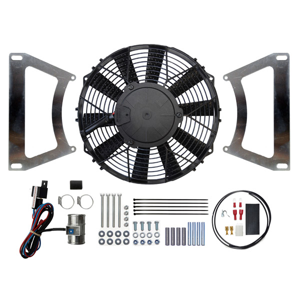 "Ford Escort MK1 & MK2 10"" Cooling Fan Kit (Suck)"