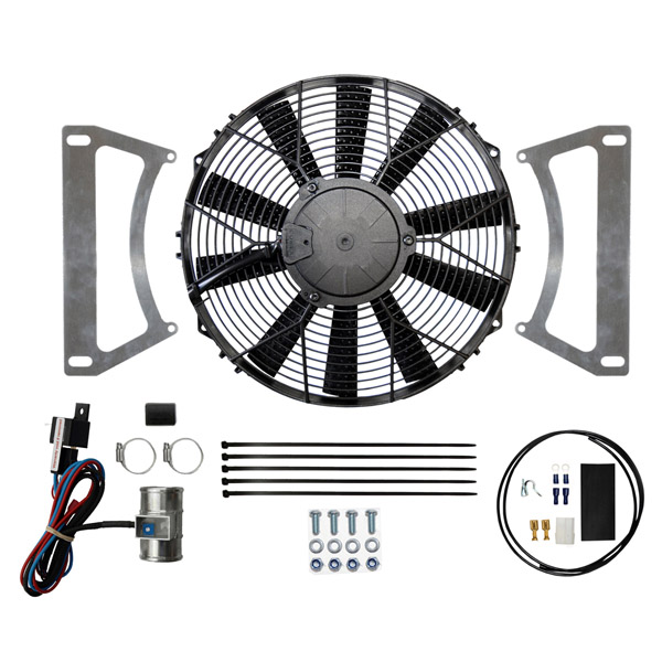 "Ford Escort MK1 & MK2 12"" Cooling Fan Kit (Blow)"