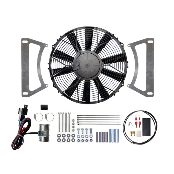 "Ford Escort MK1 & MK2 12"" Cooling Fan Kit (Suck)"