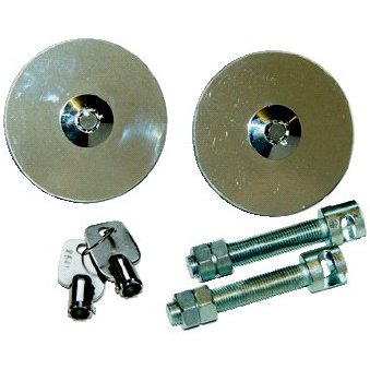 Flush Fitting Bonnet Locks (pair of)