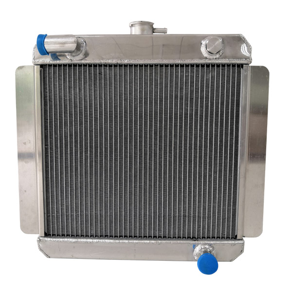 Escort MK1/2 Pinto - Alloy Radiator - 90° Top Hose
