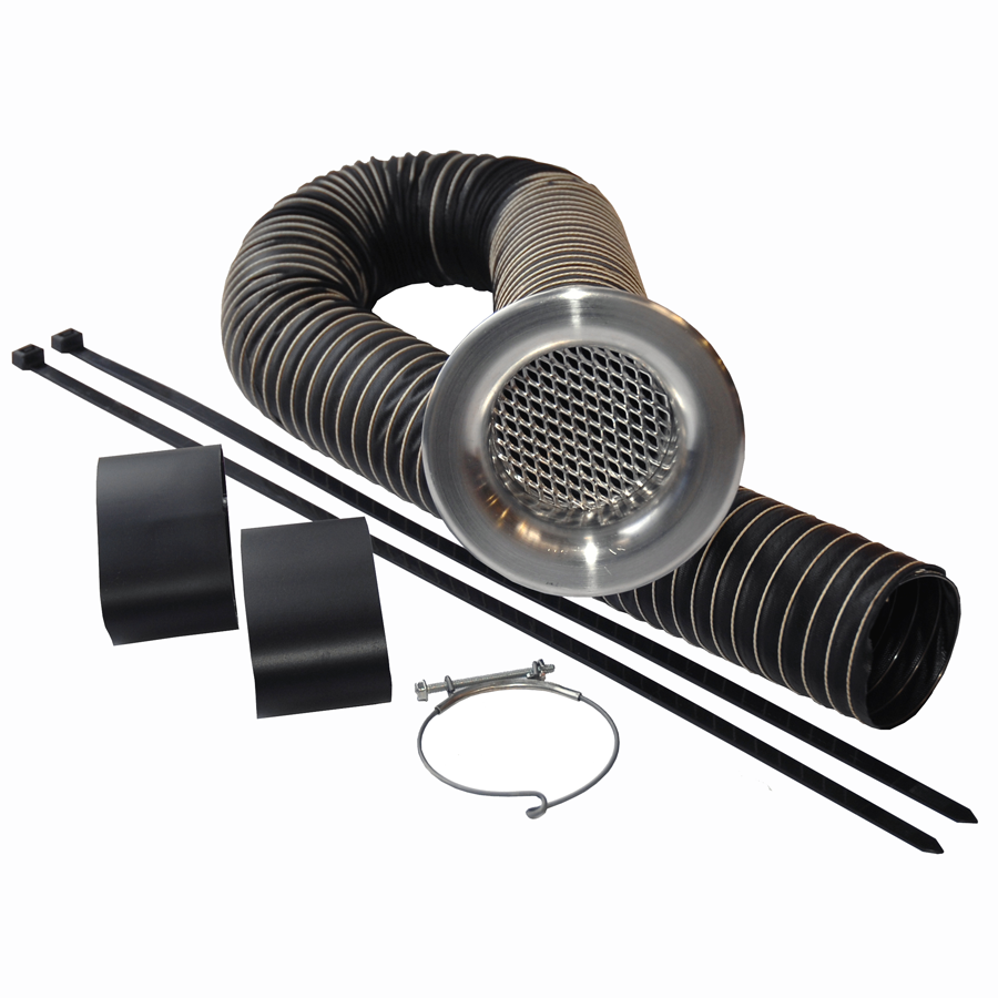 Cold Air feed Kit - 102mm Ø hose - Plain