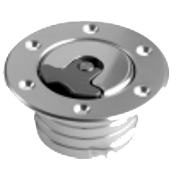 "1.75"" Ø - 6 Hole - Inc Flange & Funnel For 2"" Ø Hose"