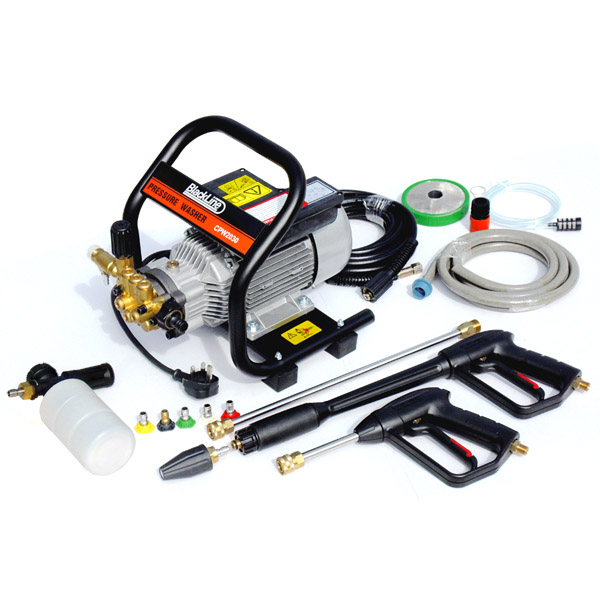Blackline 1.8kw Commercial Quality Pressure Washer