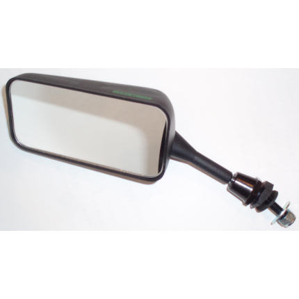 Flat Glass - Left Hand Mirror - Black