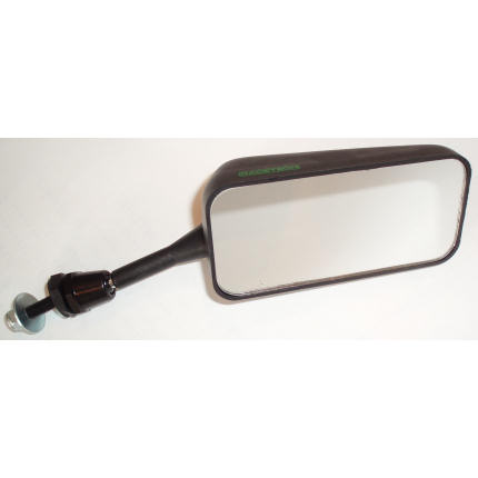 Convex Glass - Right Hand Mirror - Black