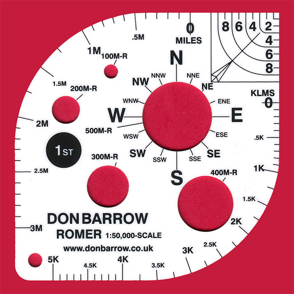 Don Barrow Super Romer 1:50,000 Landranger Scale
