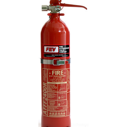 2.4 Ltr Hand Held Fire Extinguisher +ADS AFFF - FEV