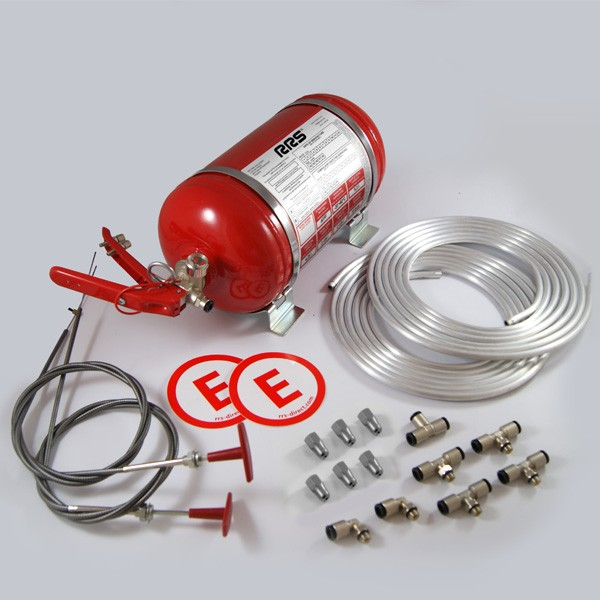 RRS Ecofirex FIA 4.25ltr Mechanical AFFF Fire Extinguisher