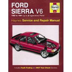 Ford Sierra V6 models (1982-1991)