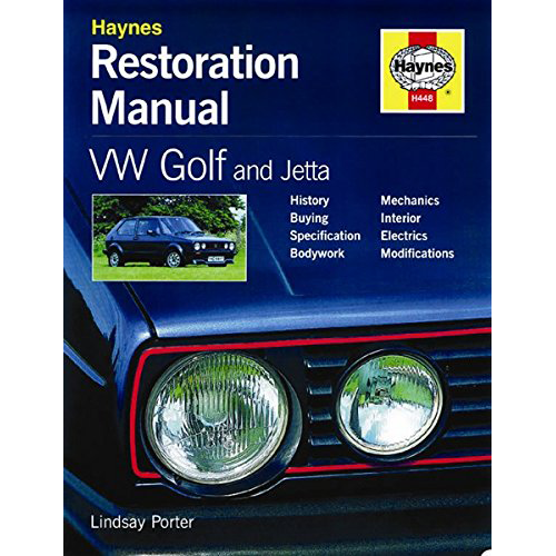 VW Golf & Jetta Restoration Manual