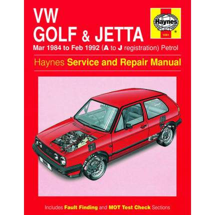 VW Golf & Jetta inc 16v (1984-1992)