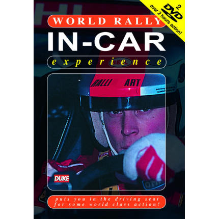 The Works In-car Rally Experience