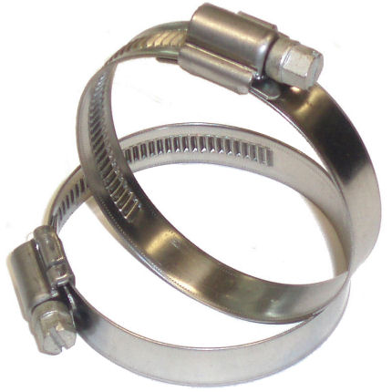 Stainless Hose Clip 60-80mm Ø