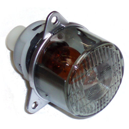 Indicator Clear Lens with Amber Bulb