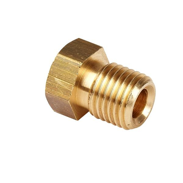 "3/8 UNF Male (Short) 3/16"" Pipe"
