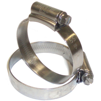 Stainless Hose Clip 25 - 35mm Ø