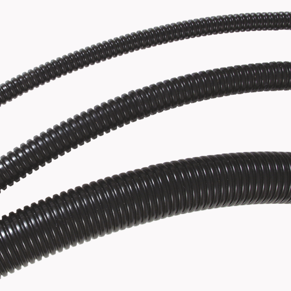 12mm I.D x 1mtr Convoluted Tubing