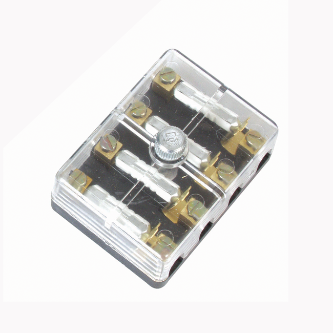 4-Way Fusebox With Screw Terminals