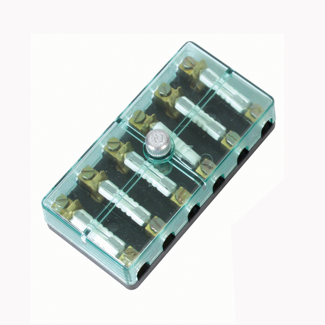 6-Way Fusebox With Screw Terminals