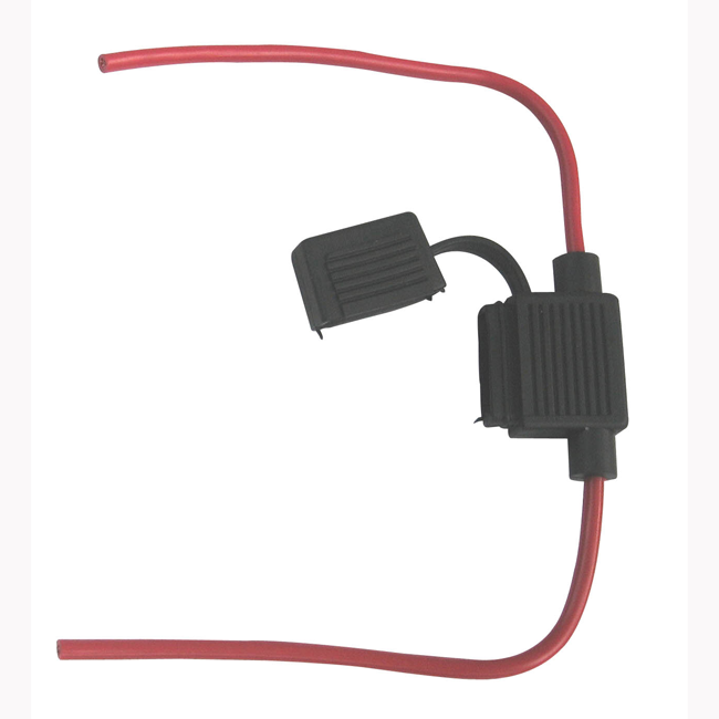 Standard 30A Blade Wired In-Line Fuse Holder
